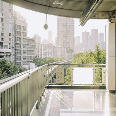 微信城市风景头像背景图