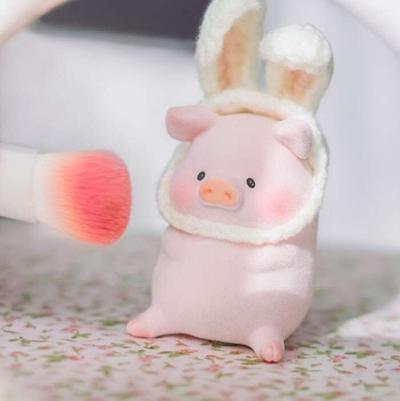可爱小猪风景头像图片