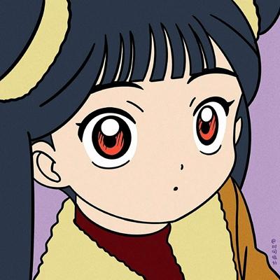 魔卡少女樱手绘卡通可爱头像