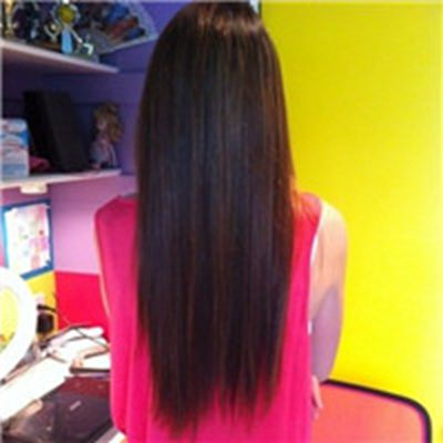 漂亮的长发女生背影头像太美了