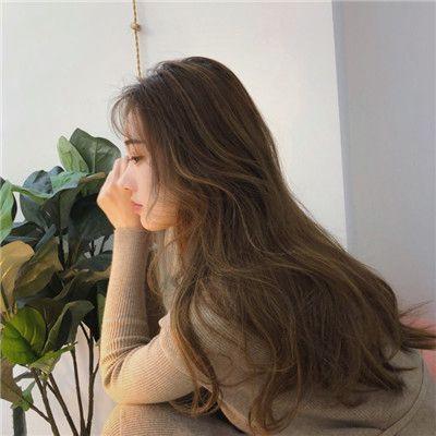 女生唯美背影长发头像精选