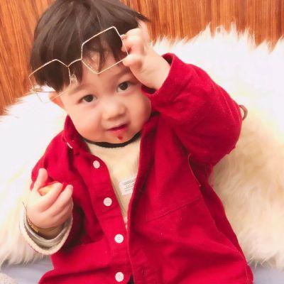 网红萌娃头像男生