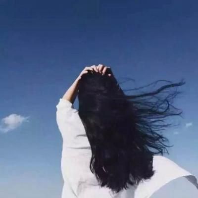 高清好看的长发女生背影头像唯美