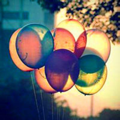 小清新气球头像