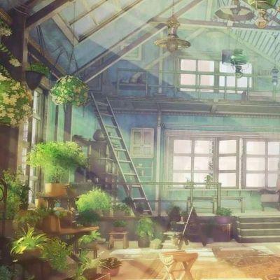 日系动漫风景头像