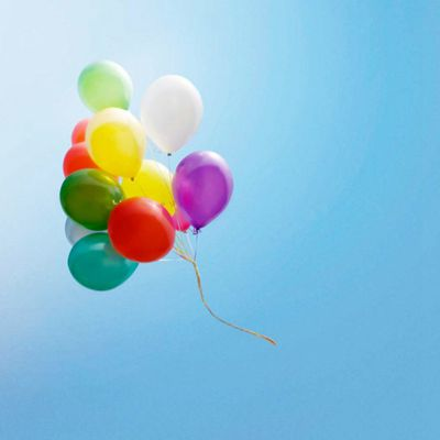 气球风景微信头像