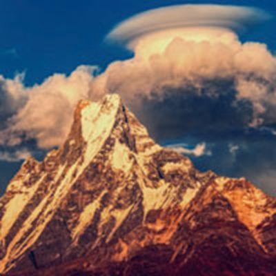 喜马拉雅山风景图片头像大全