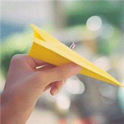 纸飞机唯美头像大全