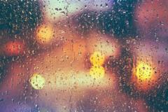 关于下雨天的伤感说说